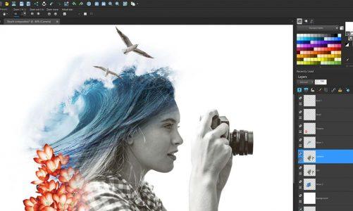 Nouveautés Painter 2019, Paintshop Pro 2019 et Pinnacle Studio 22