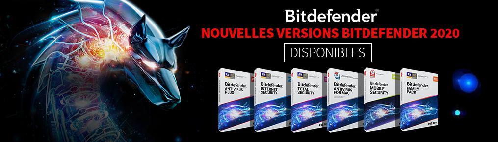 Les nouvelles versions Bitdefender 2020 disponibles!