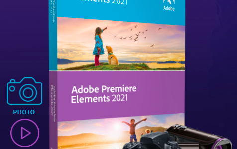 Nouvelle gamme Adobe Elements 2021