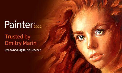 Lancement de Corel Painter 2022