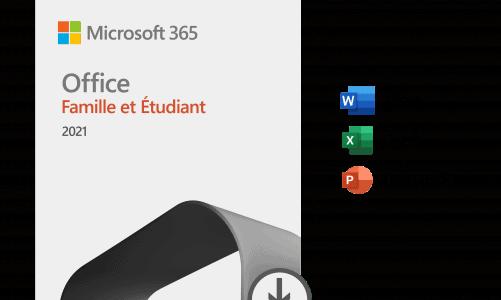 Lancement de Microsoft Office 2021